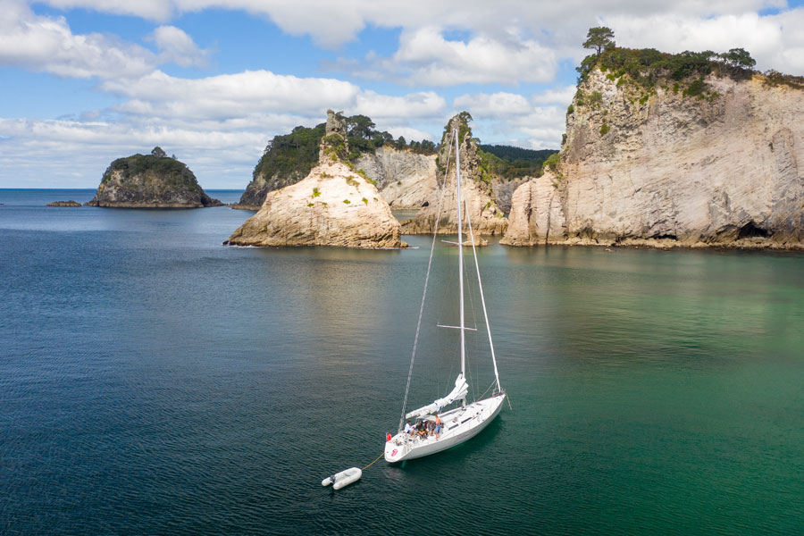 Whiting Sailing: NZ's Seachange Experience