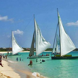 Sailboats at Anguilla