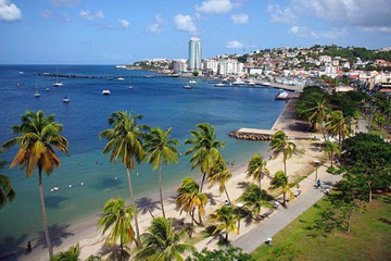 Martinique waterfront