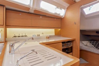 Dufour 390 Galley