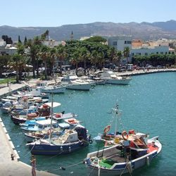 Boat harbour, Kos