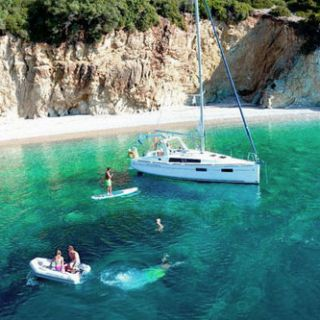 A modern-day Ionian charter sailing holiday