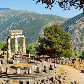 Delphi, home of the legendary oracle