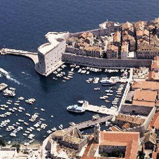 Convenient berthage right in Dubrovnic Old Town
