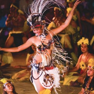 Marquesas Islands cultural display