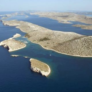 Sailing Croatia, one is never far from a marina. There's one here, at Piskera, Kornati