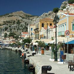 Symi waterfront