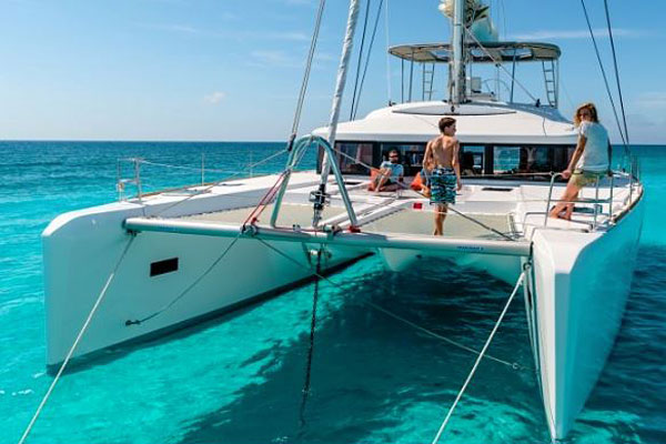 Bareboat Charter on a Larger Catamaran