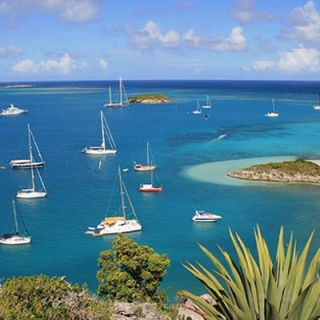 Cruising Boats in Antigua