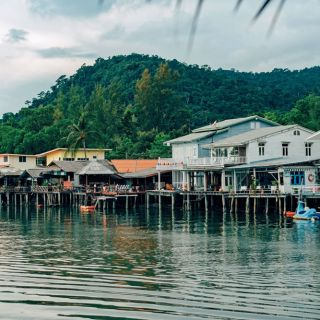 Koh Chang fishing village