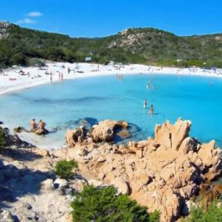 Principe beach, Costs Smeralda