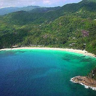 Seychelles from the air