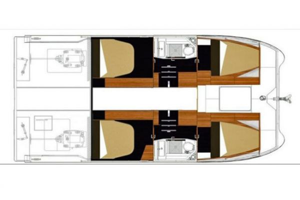 Fountaine Pajot MY37 layout