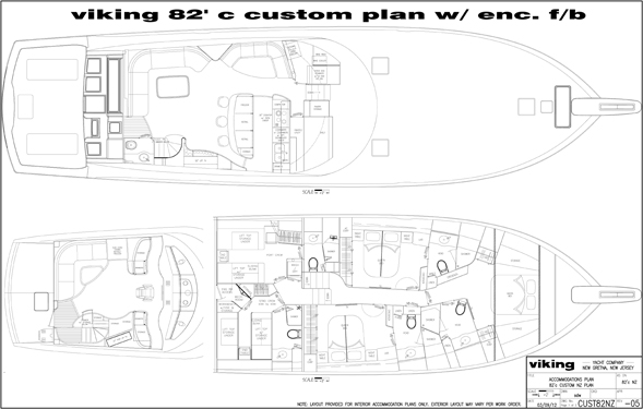 Viking 82 Layout
