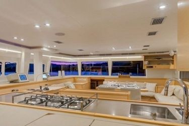 Lagoon 560 - Bacchus Galley