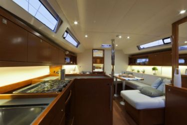 Oceanis 41 Galley