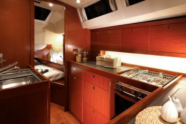 Oceanis 48 Galley