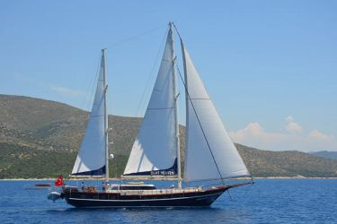Blue Heaven under sail