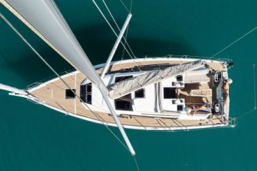 Dufour 390 Bird's Eye