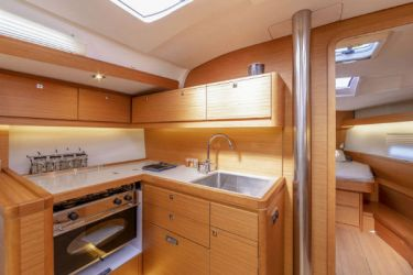 Dufour 430 Galley