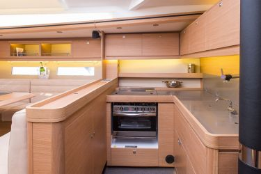 Dufour 56 galley