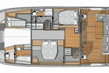 FP MY40 cabin layout