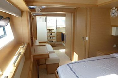 Lagoon 620 Lady Rachel cabin bathroorm