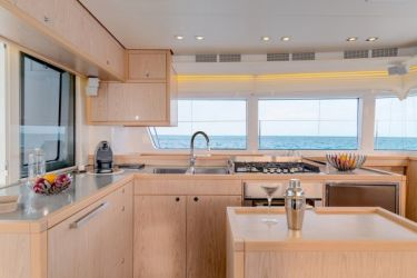 Lagoon 52 Galley