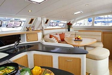 Leopard 43 Galley