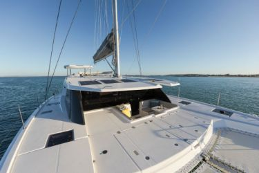 Leopard 50 Foredeck