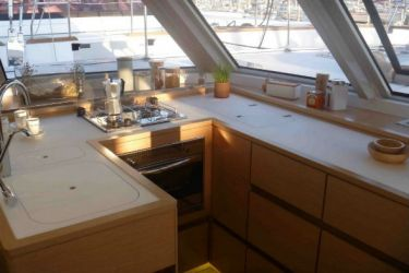 Nautitech 46 Open Galley