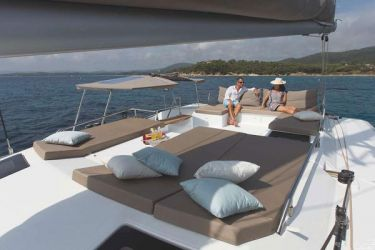 Saba 50 cabin-top relaxation