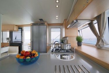 Lagoon 52 - 'Lucky Clover' Galley