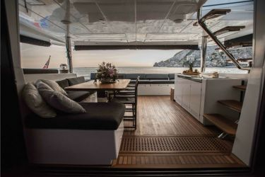 Lagoon 620 - 'Soleanis II' - Looking out