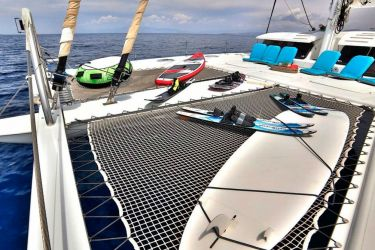 "Galanthea 65 ""World's End"" -  Foredeck"